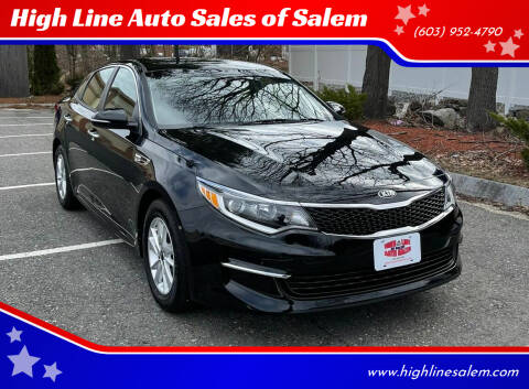 2018 Kia Optima for sale at High Line Auto Sales of Salem in Salem NH
