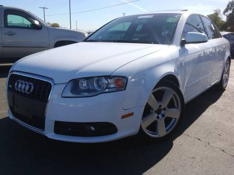 2007 Audi A4 for sale at Trini-D Auto Sales Center in San Diego CA