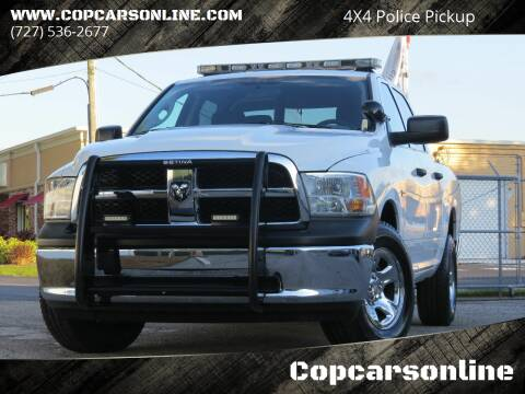 2012 RAM Ram Pickup 1500 for sale at Copcarsonline in Largo FL