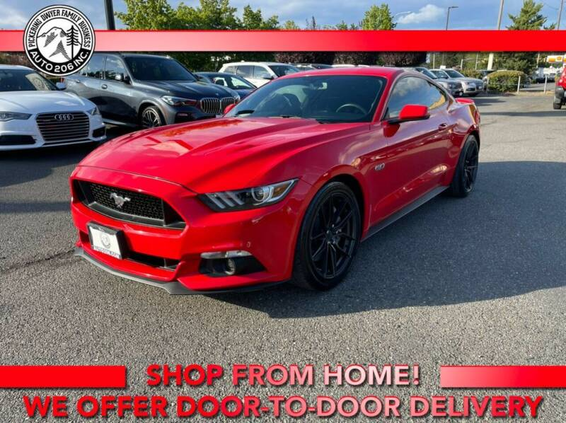 2016 Ford Mustang for sale at Auto 206, Inc. in Kent WA