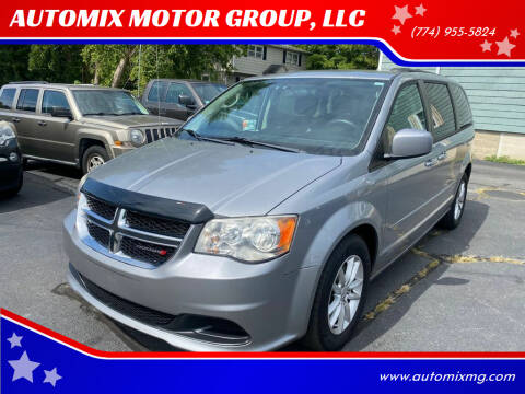 2013 Dodge Grand Caravan for sale at AUTOMIX MOTOR GROUP, LLC in Swansea MA