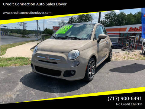 2012 FIAT 500 for sale at Credit Connection Auto Sales Dover in Dover PA