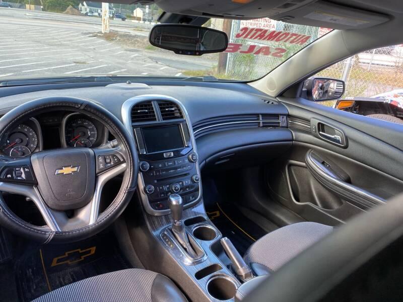 2014 Chevrolet Malibu LT 4dr Sedan w/2LT - Warwick RI