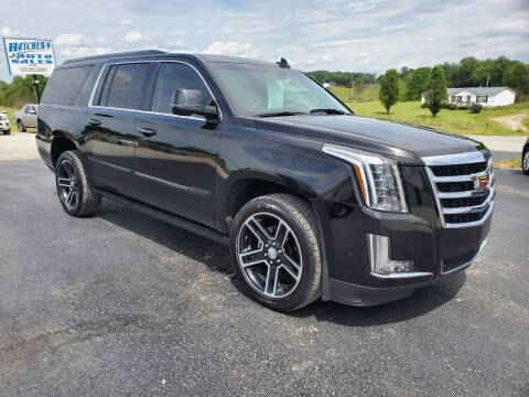 2016 Cadillac Escalade ESV for sale at Hatcher's Auto Sales, LLC in Campbellsville KY