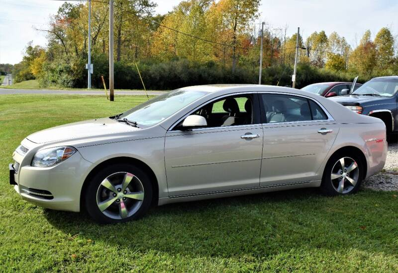 2012 Chevrolet Malibu for sale at PINNACLE ROAD AUTOMOTIVE LLC in Moraine OH