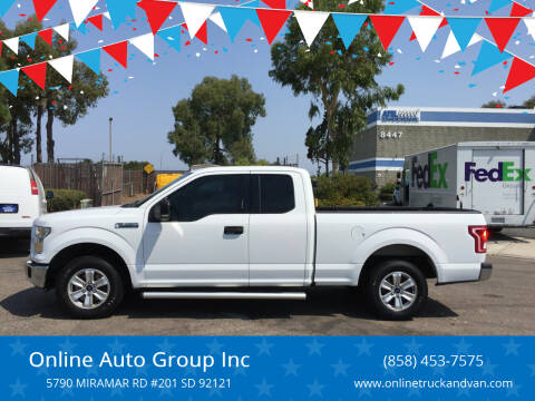 2015 Ford F-150 for sale at Online Auto Group Inc in San Diego CA