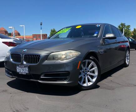 2014 BMW 5 Series for sale at LUGO AUTO GROUP in Sacramento CA