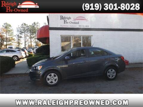 2013 Chevrolet Sonic for sale at Raleigh Pre-Owned in Raleigh NC