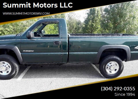 2004 Chevrolet Silverado 2500HD for sale at Summit Motors LLC in Morgantown WV