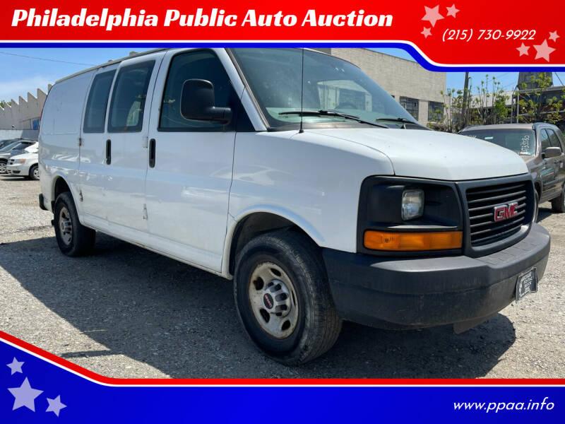 2008 GMC Savana Cargo for sale at Philadelphia Public Auto Auction in Philadelphia PA