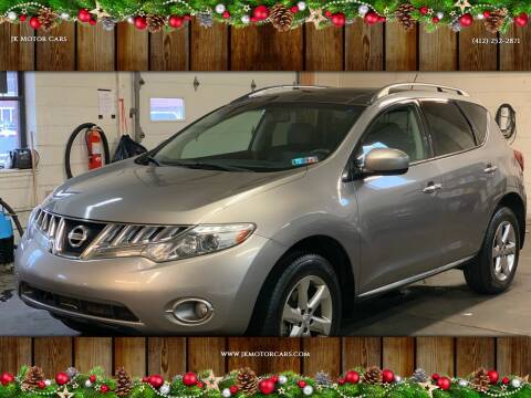 2010 Nissan Murano for sale at JK Motor Cars in Pittsburgh PA