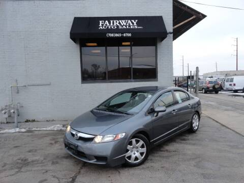 2010 Honda Civic for sale at FAIRWAY AUTO SALES, INC. in Melrose Park IL