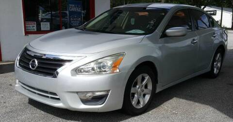 2014 Nissan Altima for sale at Klassic Cars in Lilburn GA