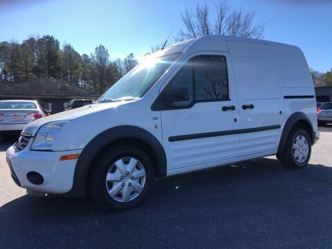 2013 Ford Transit Connect for sale at GTO United Auto Sales LLC in Lawrenceville GA