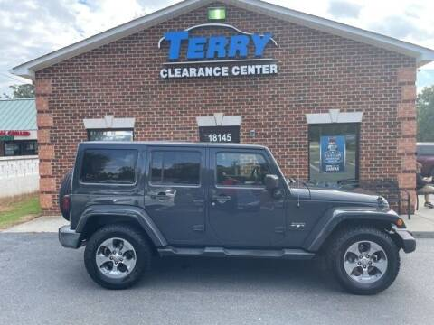 2016 Jeep Wrangler Unlimited for sale at Terry Clearance Center in Lynchburg VA
