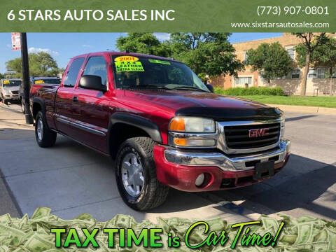 2004 GMC Sierra 1500 for sale at 6 STARS AUTO SALES INC in Chicago IL