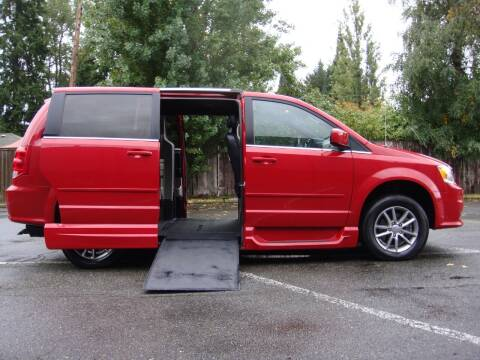 2015 Dodge Grand Caravan for sale at Western Auto Brokers in Lynnwood WA