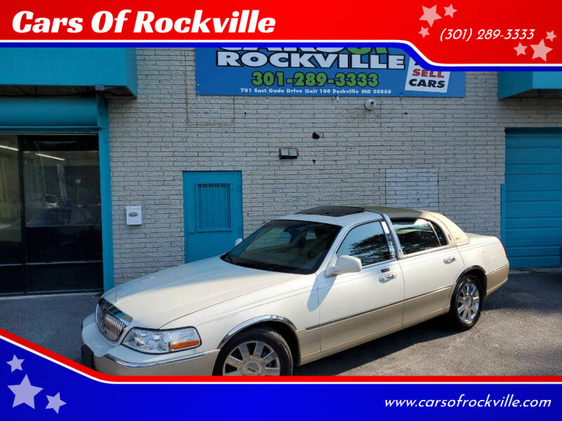2004 Lincoln Town Car for sale in Rockville, MD
