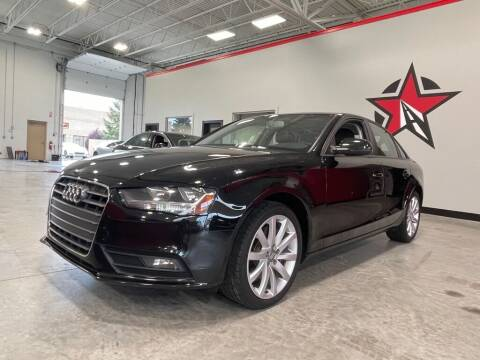 2013 Audi A4 for sale at CarNova - Shelby Township in Shelby Township MI
