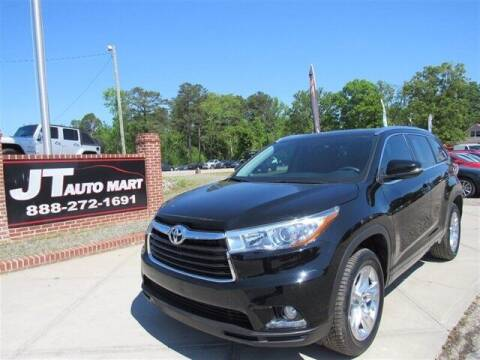 2014 Toyota Highlander for sale at J T Auto Group in Sanford NC