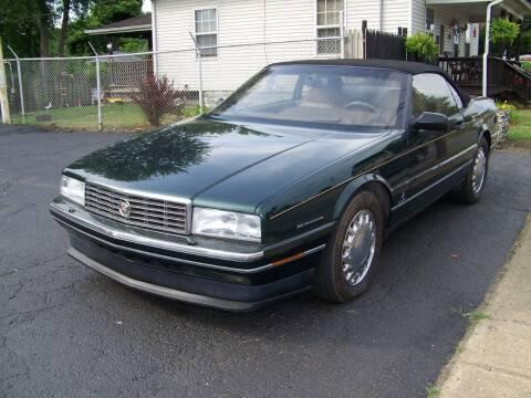 1993 Cadillac Allante for sale at Collector Car Co in Zanesville OH