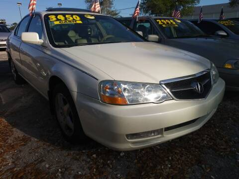 2003 Acura TL for sale at AFFORDABLE AUTO SALES OF STUART in Stuart FL