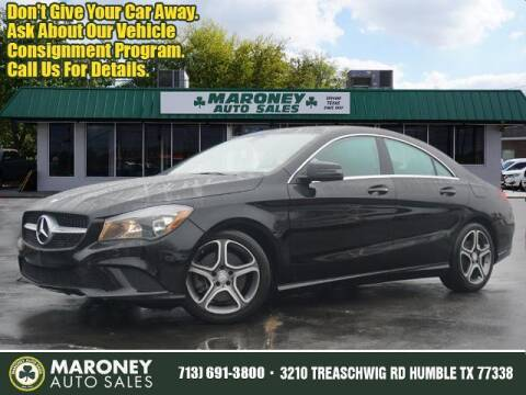 2014 Mercedes-Benz CLA for sale at Maroney Auto Sales in Humble TX
