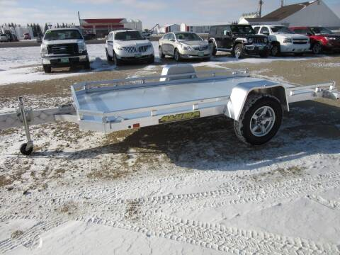 "2021 Aluma 77"" x 12' for sale at Nore's Auto & Trailer Sales - Utility Trailers in Kenmare ND"