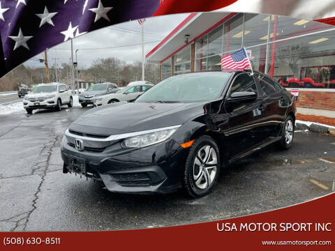 2017 Honda Civic for sale at USA Motor Sport inc in Marlborough MA