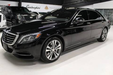 2015 Mercedes-Benz S-Class for sale at ESPI Motors in Houston TX