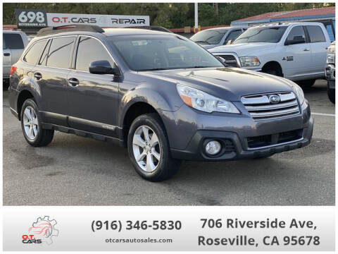 2014 Subaru Outback for sale at OT CARS AUTO SALES in Roseville CA