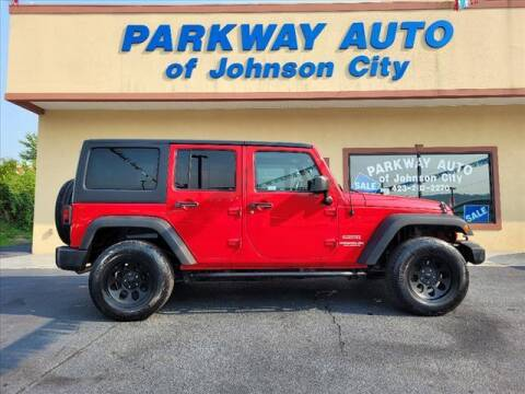2012 Jeep Wrangler Unlimited for sale at PARKWAY AUTO SALES OF BRISTOL - PARKWAY AUTO JOHNSON CITY in Johnson City TN