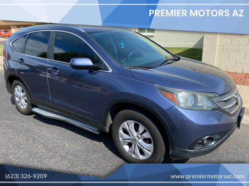 2013 Honda CR-V for sale at Premier Motors AZ in Phoenix AZ