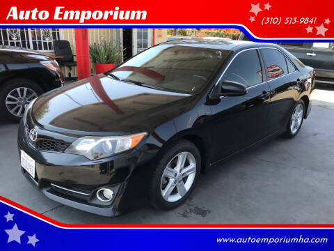 2014 Toyota Camry for sale at Auto Emporium in Wilmington CA