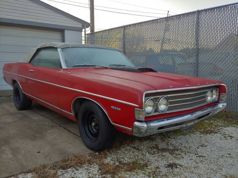 1969 Ford Fairlane 500 for sale at Motor Pool Operations in Hainesport NJ