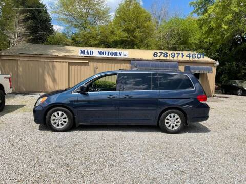 2010 Honda Odyssey for sale at Mad Motors LLC in Gainesville GA