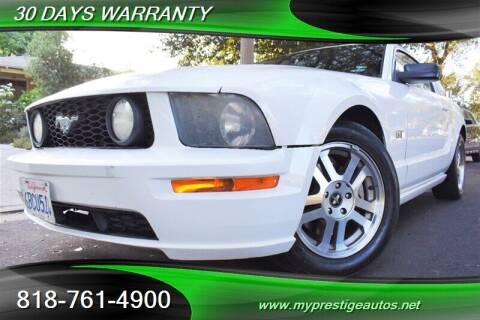 2006 Ford Mustang for sale at Prestige Auto Sports Inc in North Hollywood CA