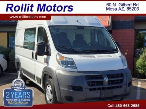 2014 RAM ProMaster Cargo for sale at Rollit Motors in Mesa AZ
