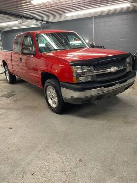 2003 Chevrolet Silverado 1500 for sale at Dalton George Automotive in Marietta OH