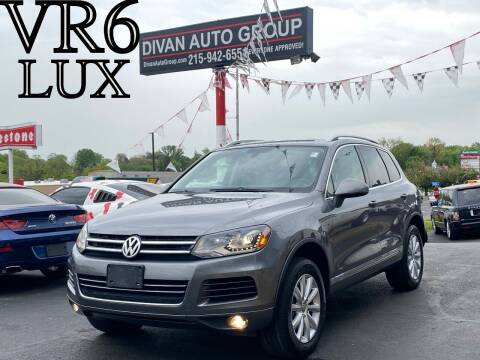 2011 Volkswagen Touareg for sale at Divan Auto Group in Feasterville Trevose PA