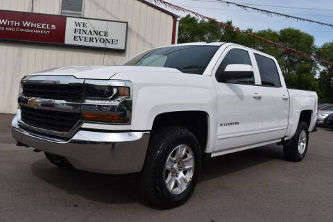 2016 Chevrolet Silverado 1500 for sale at Dealswithwheels in Inver Grove Heights MN