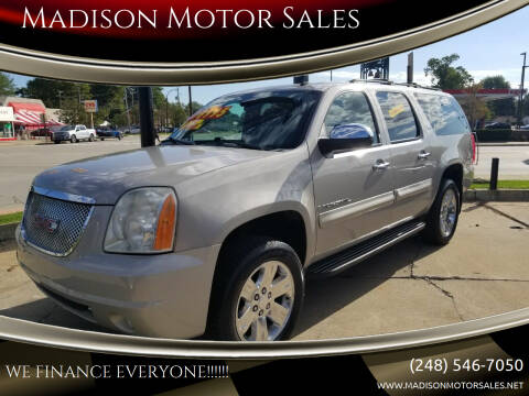 2009 GMC Yukon XL for sale at Madison Motor Sales in Madison Heights MI