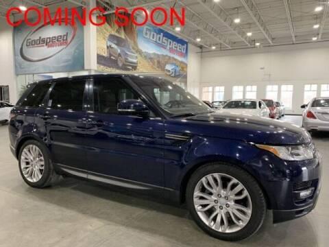 2016 Land Rover Range Rover Sport for sale at Godspeed Motors in Charlotte NC