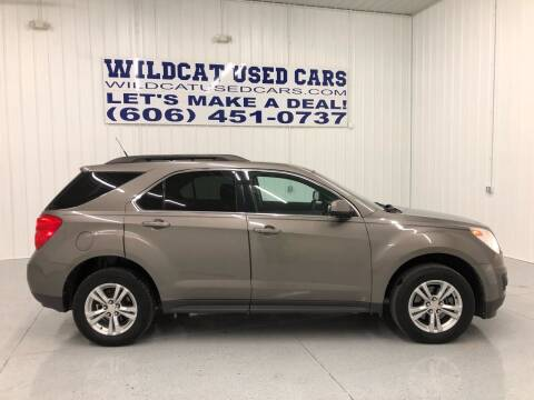 2011 Chevrolet Equinox for sale at Wildcat Used Cars in Somerset KY