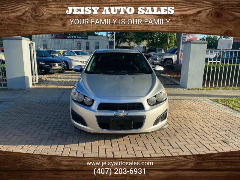 2013 Chevrolet Sonic for sale at JEISY AUTO SALES in Orlando FL
