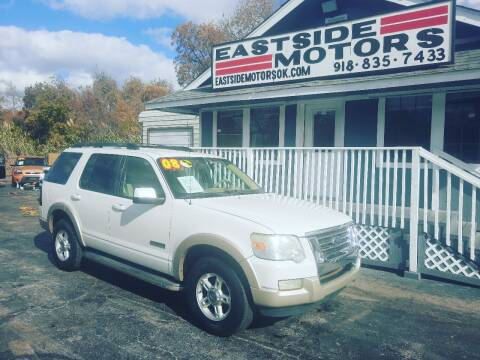 2008 Ford Explorer for sale at EASTSIDE MOTORS in Tulsa OK