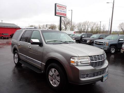 2009 Lincoln Navigator for sale at Marty's Auto Sales in Savage MN