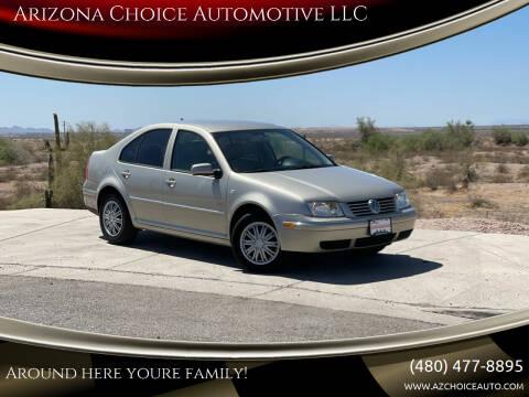 2004 Volkswagen Jetta for sale at Arizona Choice Automotive LLC in Mesa AZ