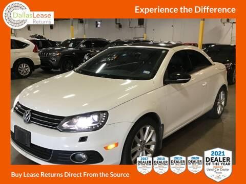 2013 Volkswagen Eos for sale at Dallas Auto Finance in Dallas TX