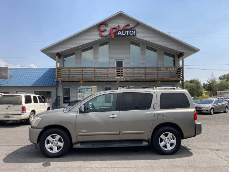 2007 Nissan Armada for sale at Epic Auto in Idaho Falls ID